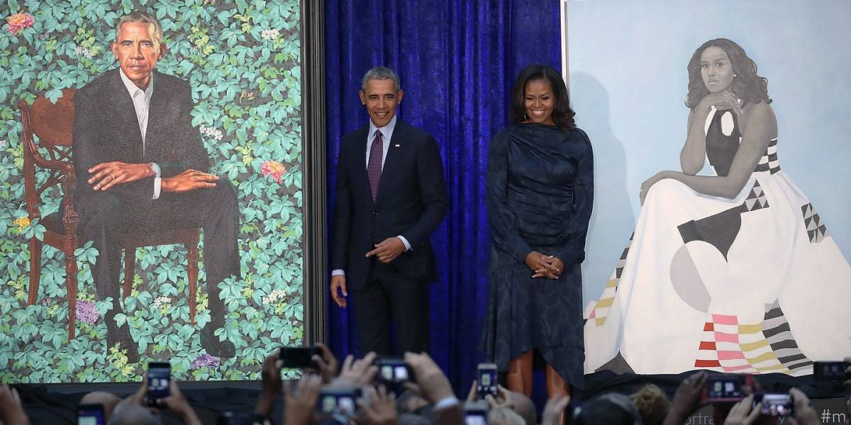 Revelan el retrato oficial de los Obama