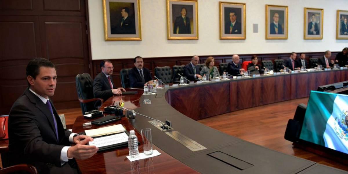Peña Nieto pide a su gabinete cumplir con ley electoral el 1 de julio