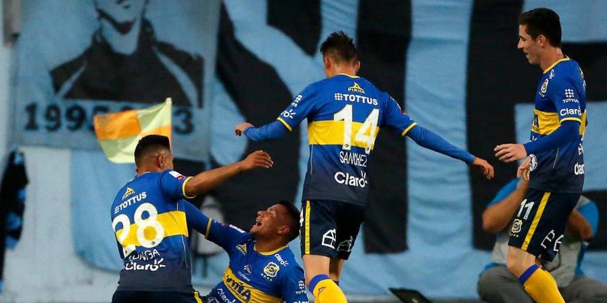 Everton se recupera en el Campeonato Nacional y derrotó a domicilio a O'Higgins
