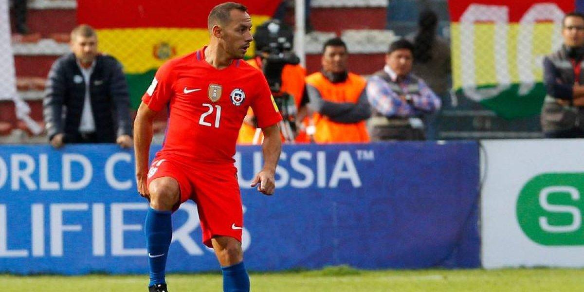 """Marcelo Díaz quiere volver a La Roja: """"Ya estoy recuperado psicológicamente por no clasificar al Mundial"""""""