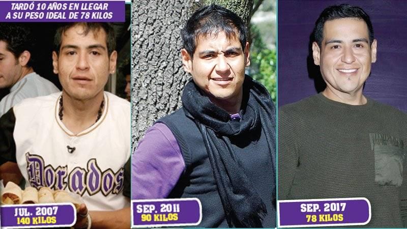 Rafa Balderrama, antes y después
