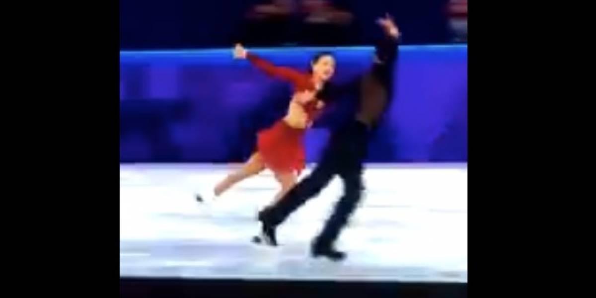 """Bailan """"Despacito"""" en los Juegos Olímpicos de invierno"""