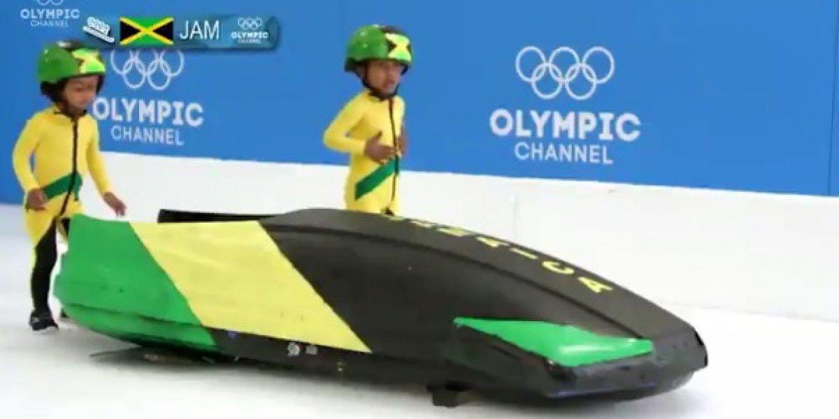 Así serían los Juegos Olímpicos de Invierno con bebés