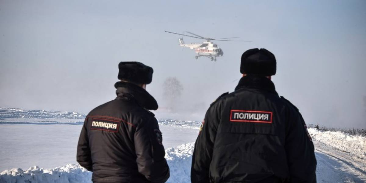 Nieve complica investigación sobre trágico accidente aéreo en Rusia