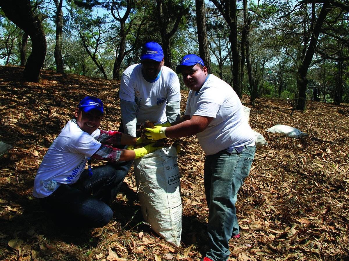 Voluntarios de Walmart México y Centroamérica