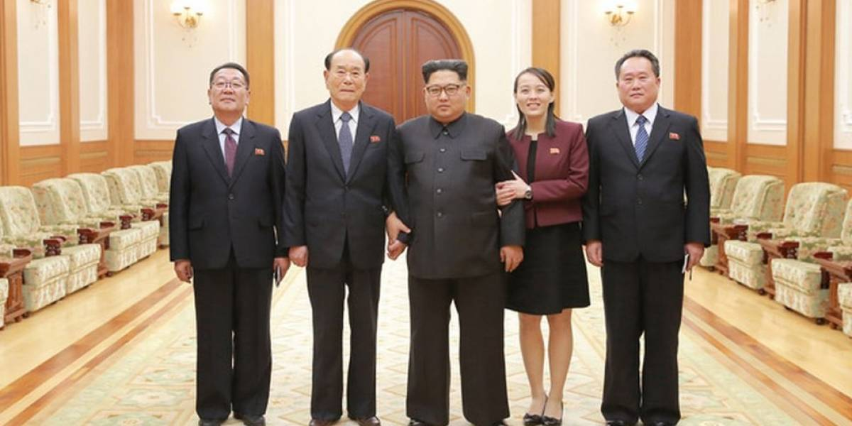 """PyeongChang 2018: el inusual agradecimiento de Kim Jong-un a Corea del Sur por sus """"impresionantes"""" esfuerzos para acoger a la delegación de Corea del Norte a los Juegos Olímpicos"""