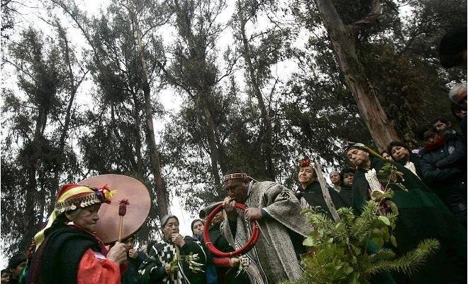 Celebracion Mapuches