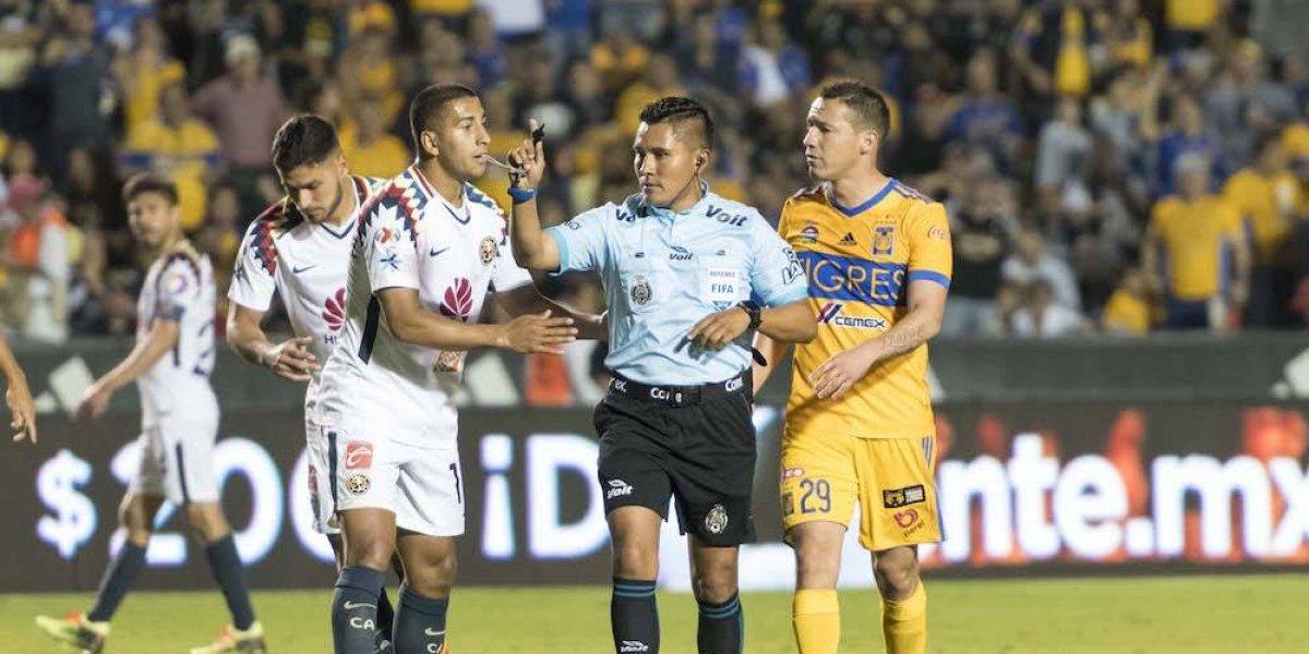 Congelan a Fernando Guerrero tras error en el Tigres-América
