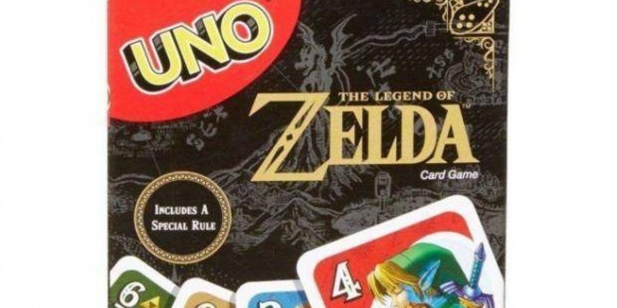 Conoce el 'UNO' inspirado en The Legend of Zelda