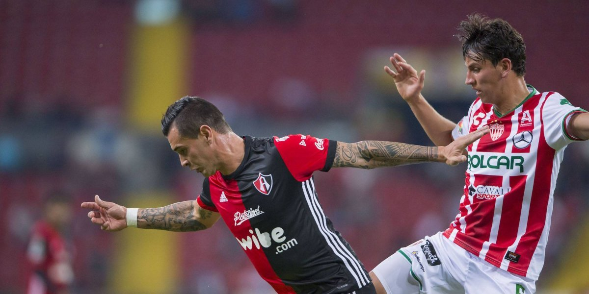Atlas no pudo con Necaxa: 1-1 en el Jalisco