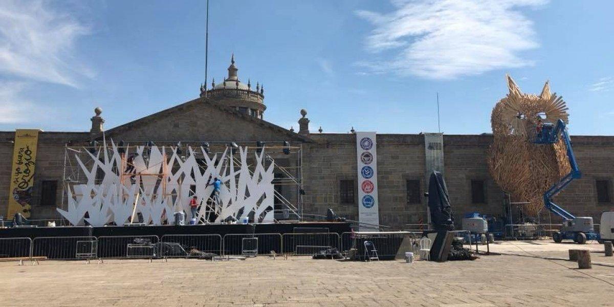 Guadalajara festejará 476 años con mucha luz y cierres viales