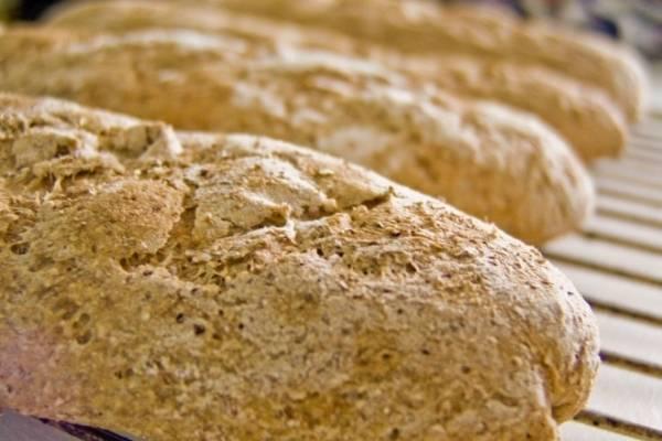 Blanco pan barra calorias de