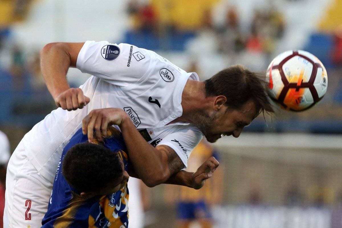 Sportivo Luqueño vs. Deportivo Cuenca EFE
