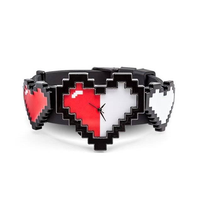 Reloj de corazones 8-Bit
