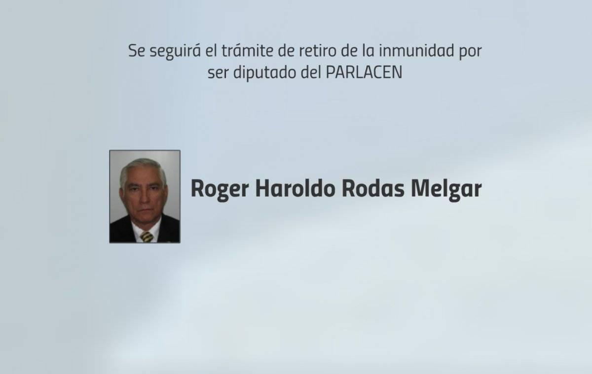 Diputado Roger Rodas
