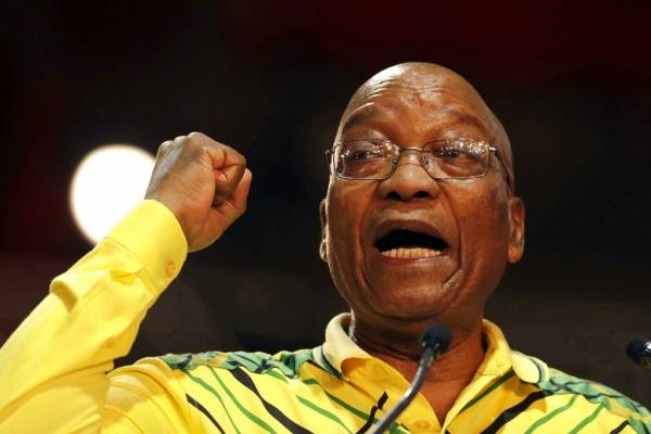 Zuma Sudáfrica