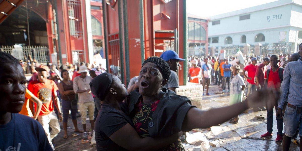 Fuego vuelve a destruir histórico mercado de Haití
