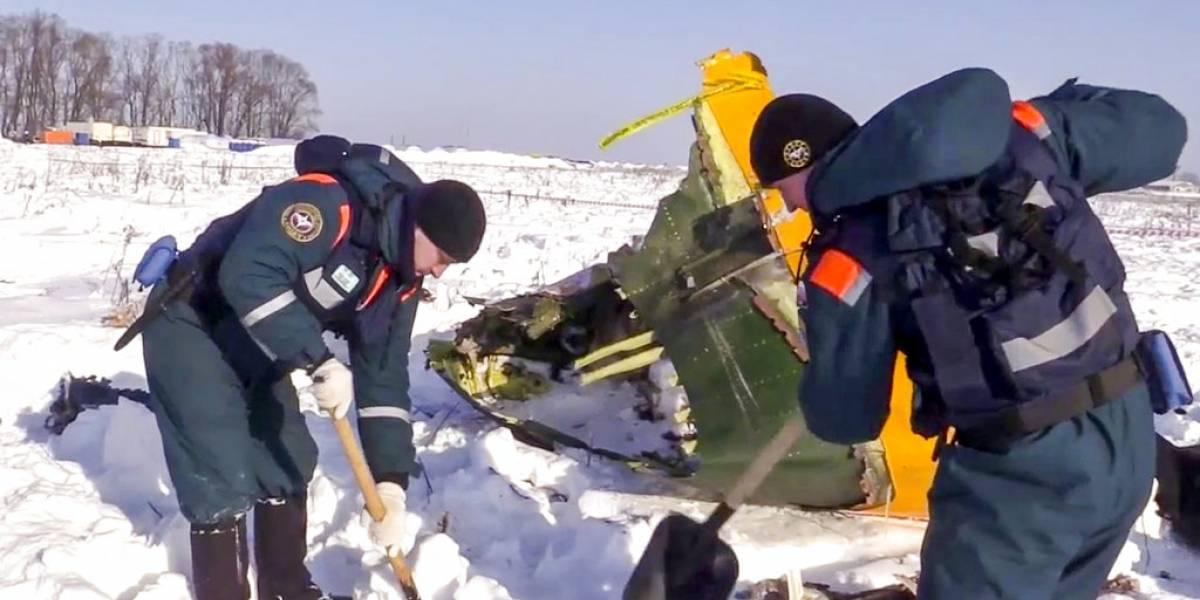 Error humano habría provocado la caída del avión ruso que dejó 71 víctimas fatales