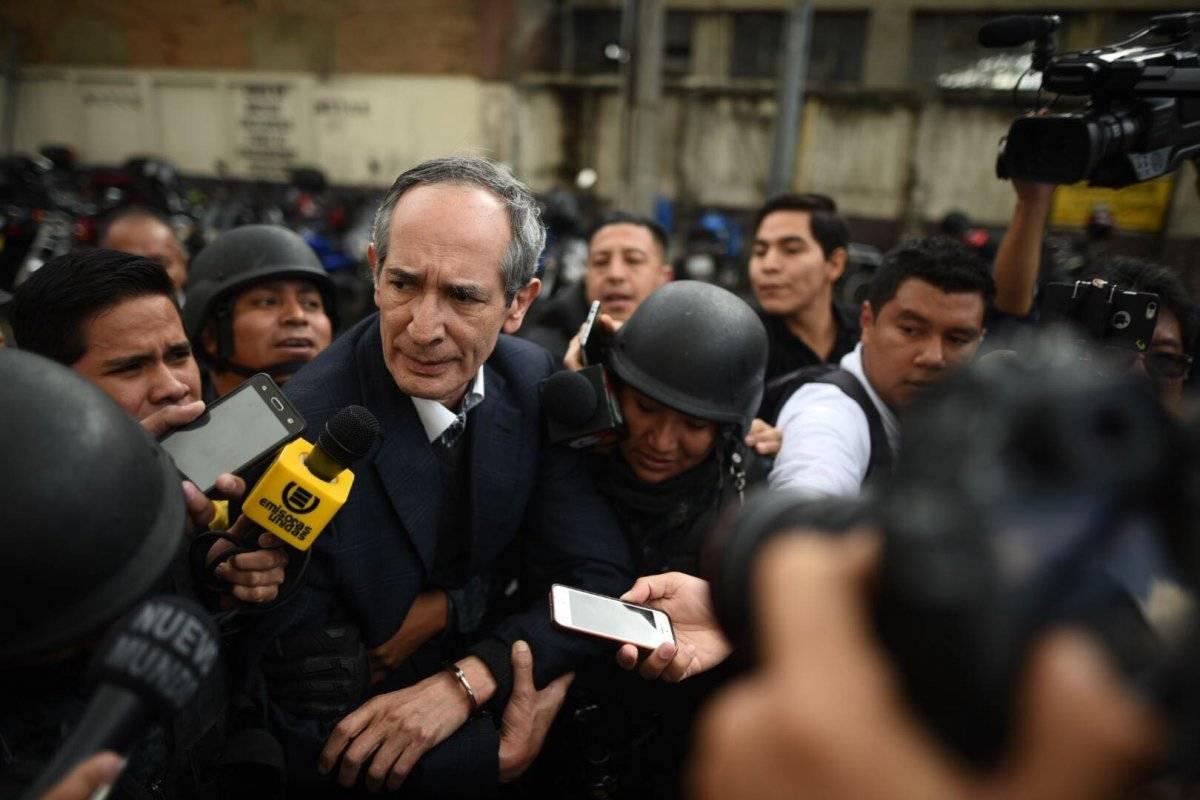 El expresidente Colom fue capturado el 13 de febrero. Edwin Bercián