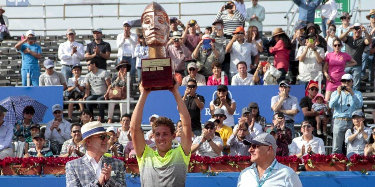 Español Roberto Carballés es campeón del ATP 250 de Quito