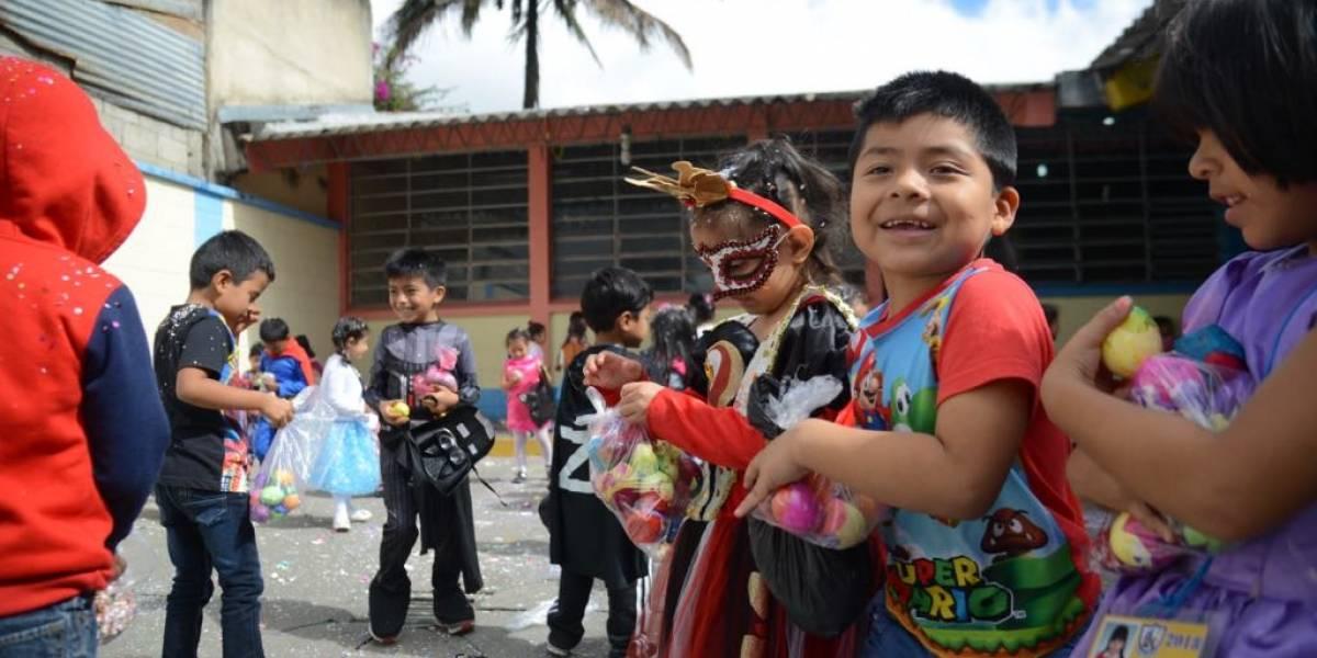 Un martes de carnaval colorido en la escuela Ovidio Decroly