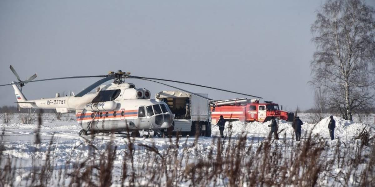Cajas negras revelan posible causa trágico accidente aéreo en Rusia