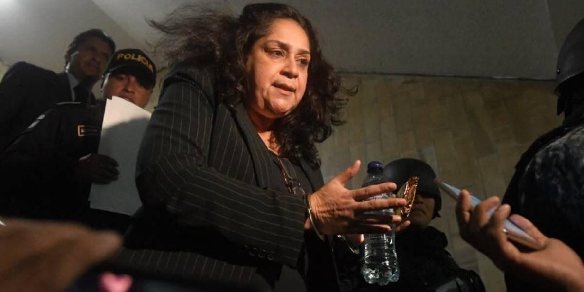 VIDEOS. Momento en que detienen a la jueza Jisela Reinoso