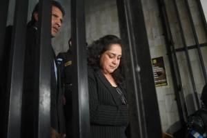 captura de la jueza Jisela Reinoso