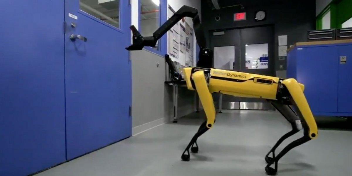 """""""Esto es escalofriante"""": redes sociales atemorizadas por perro-robot que aprendió a abrir puertas para escapar"""