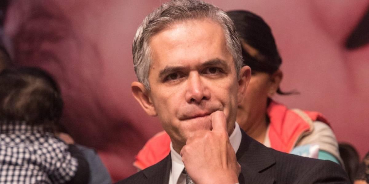 Mancera desmiente propuesta del PAN para ser senador