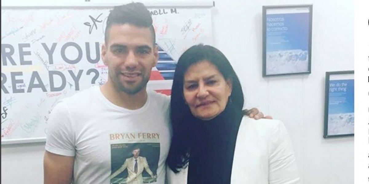 Mamá de Falcao se 'sacó la espinita' con Iván Mejía por comentario de hace año