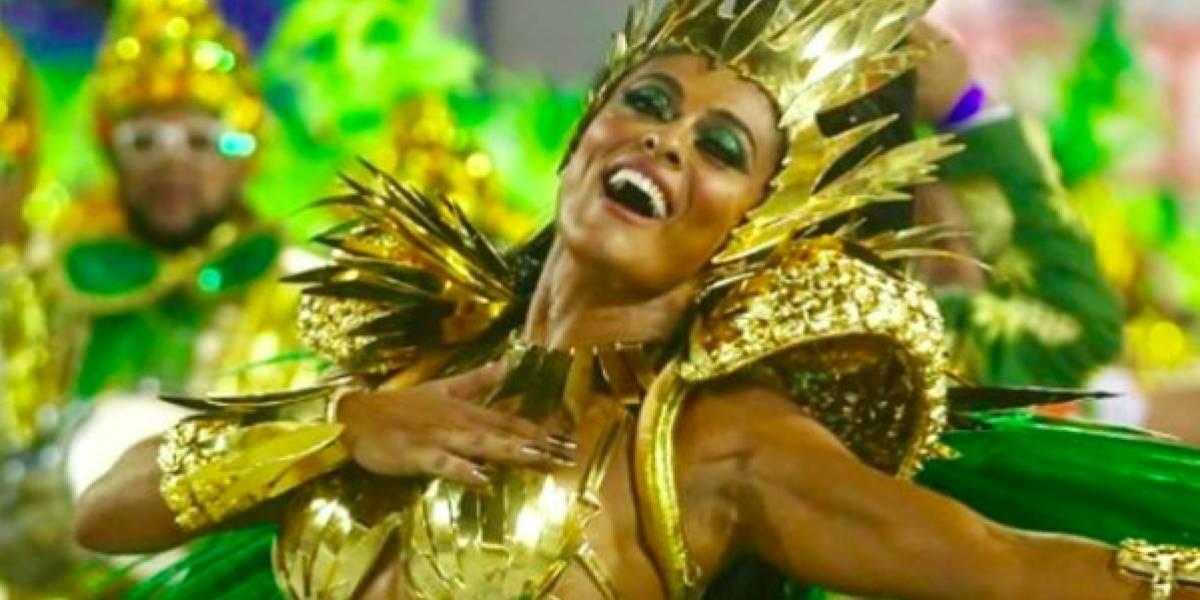 Juliana Paes é assaltada a caminho do sambódromo