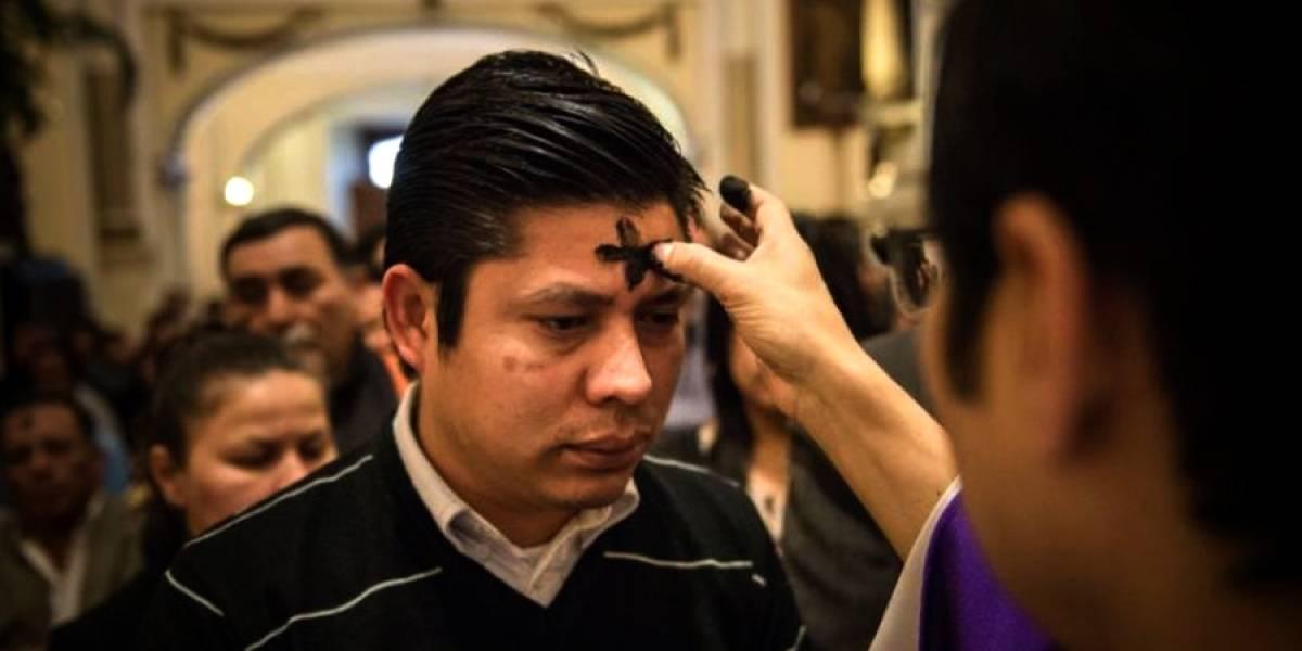 Misas por el Miércoles de Ceniza