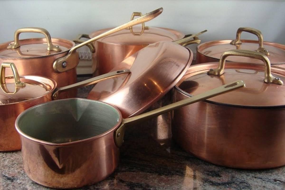 Las propiedades de las ollas de cobre - Sabrosía | Nueva Mujer