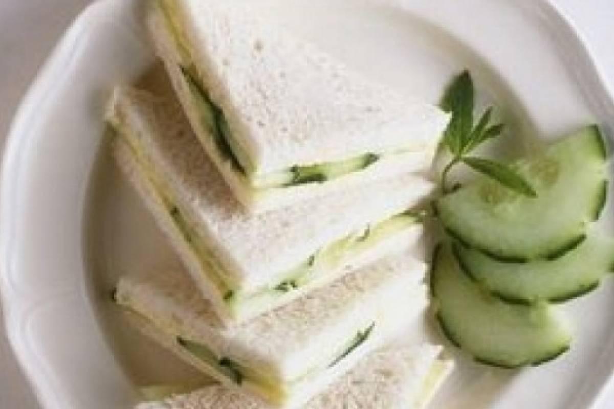 Resultado de imagen para sandwiches de pepino