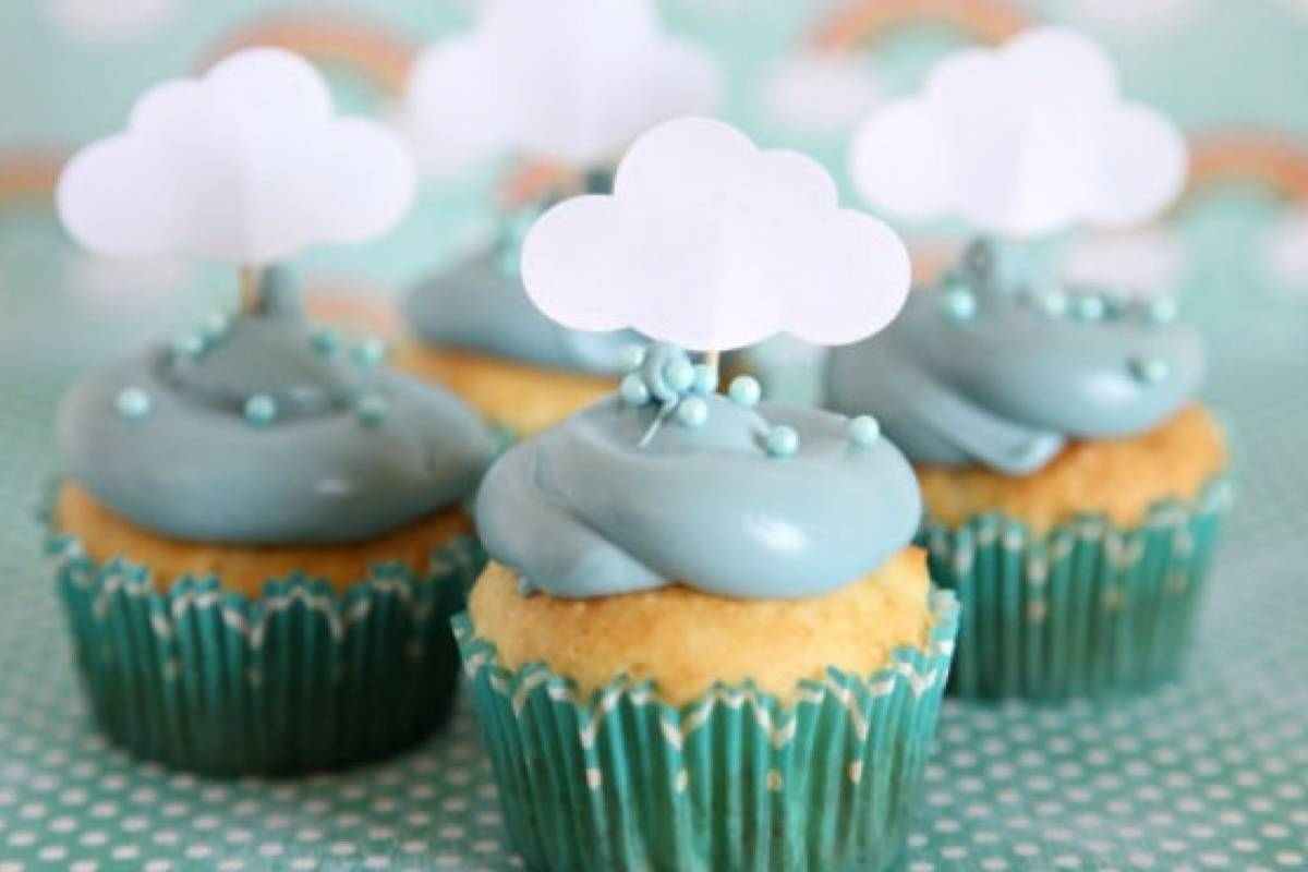 Simplemente Adorables Ideas De Cupcakes Para Baby Showers