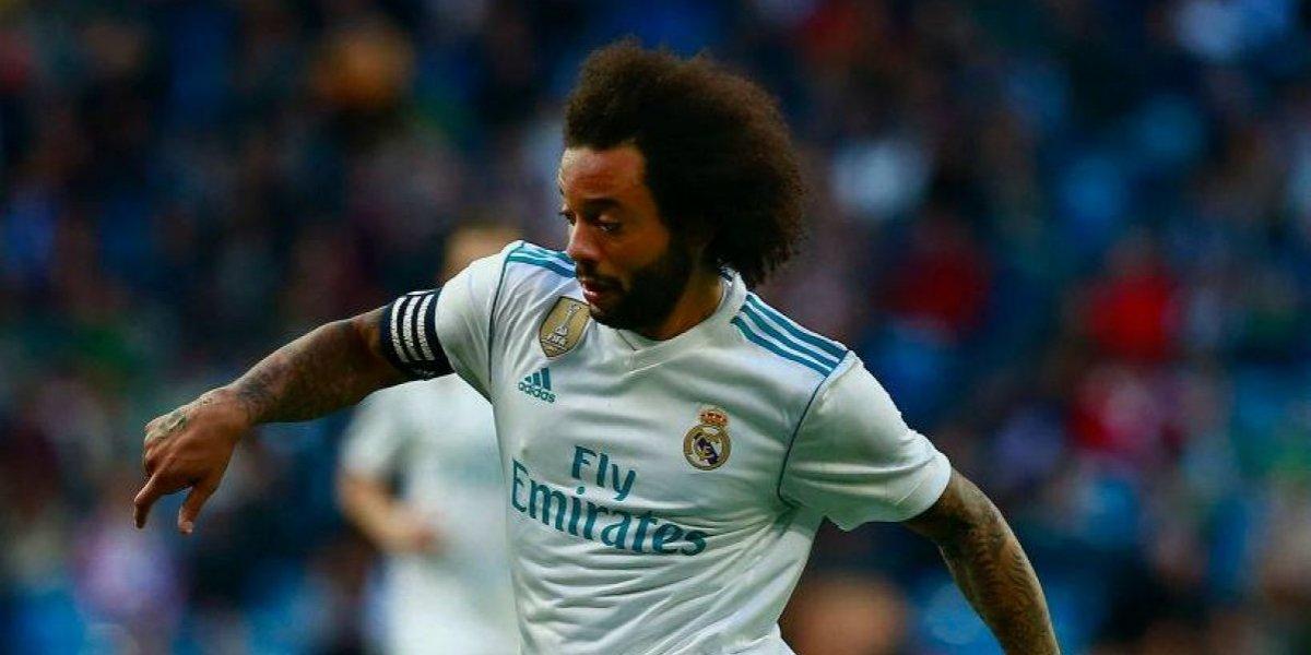 """Marcelo le hace un guiño a Neymar antes de recibir al PSG: """"Encajaría en el Real Madrid"""""""