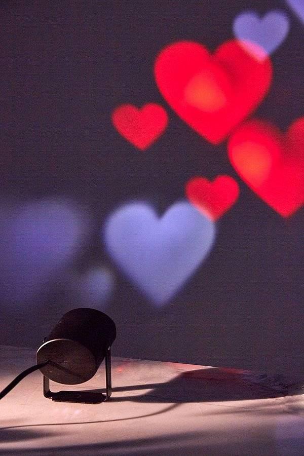 Proyector de corazones