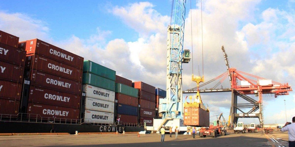 Llega primer barco de contenedores en 18 años a Ponce
