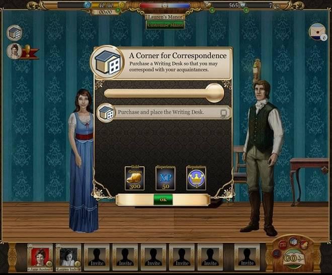 Jane Austen ya tiene su propio juego en Facebook - Belelú