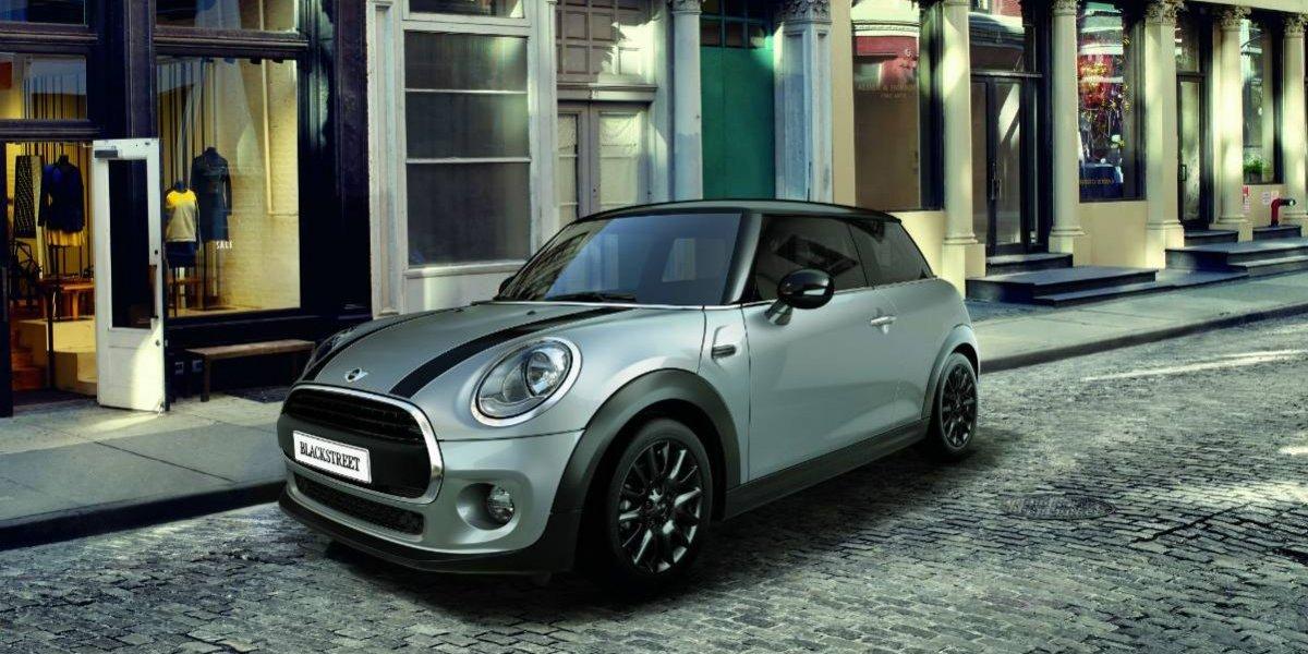 El Mini Cooper se viste de negro con su Black Street Edition
