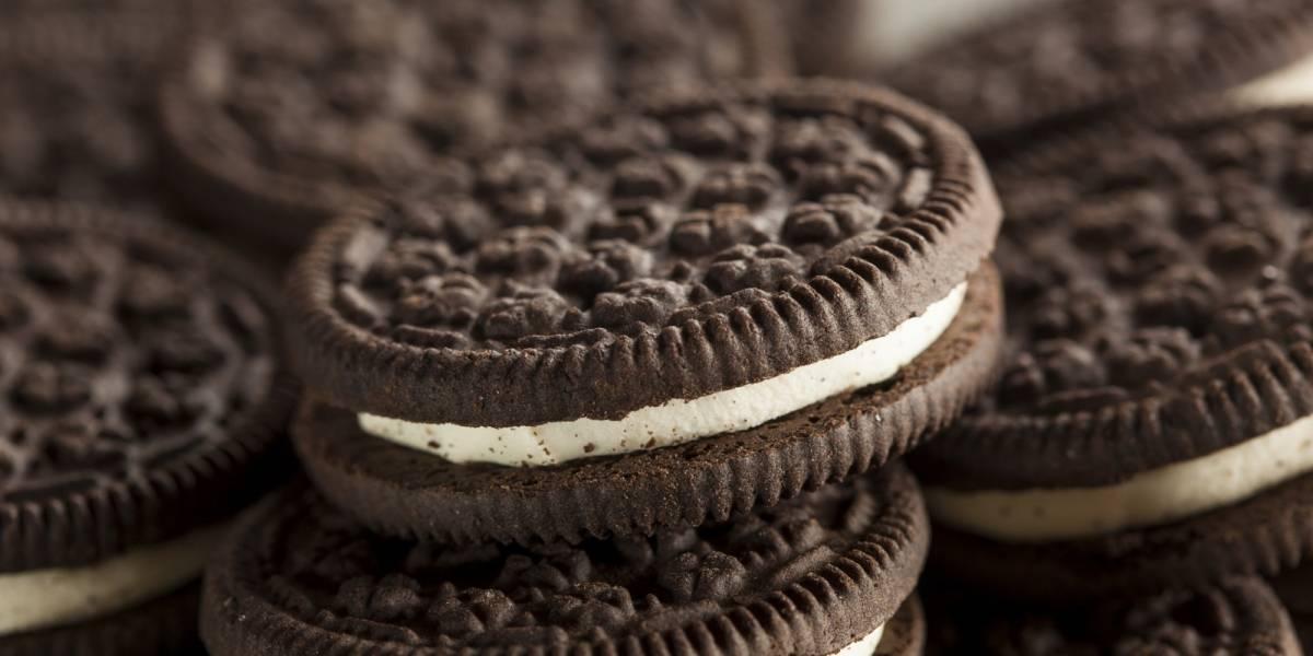 Fidget spinner vegano con galletas Oreo