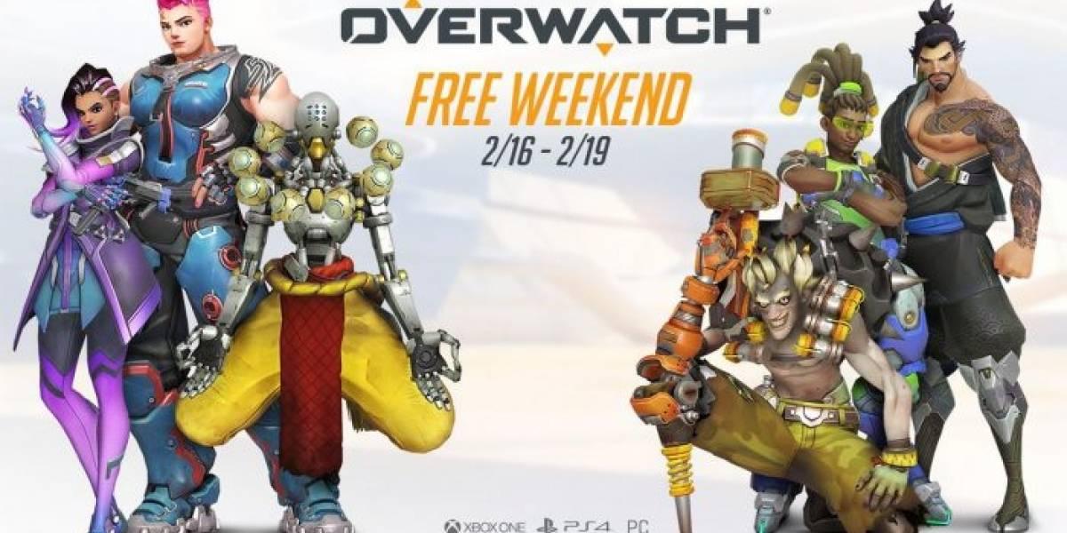 Overwatch se podrá jugar gratis este fin de semana