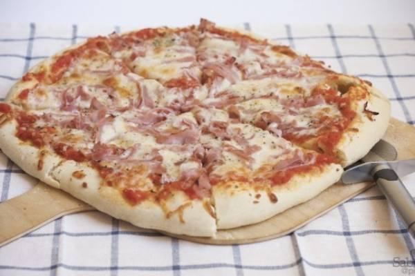Pizza de casa ingrediente