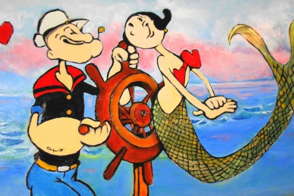 Popeye y el poder de las espinacas sabrosa nueva mujer mencionan que fue el 17 de enero otros el 1 de julio lo cierto es que en 1929 nace uno de los personajes ms queridos de las tiras cmicas popeye altavistaventures Choice Image