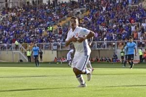 Nicolás Guerra marcó su primer gol del 2018 / Photosport