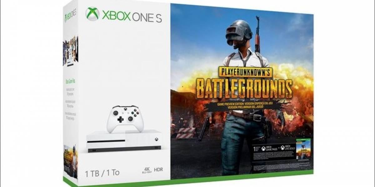 Se anuncia bundle de Xbox One S con PlayerUnknown's Battlegrounds