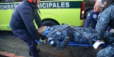 Accidente Salvador Gándara