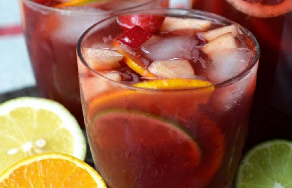 como hacer un coctel de frutas sencillo sin alcohol