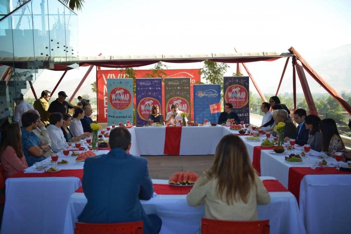 Pre lanzamiento del Festival Womad Chile